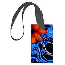 Divinity Mon Sun C Sensual Blue  Luggage Tag