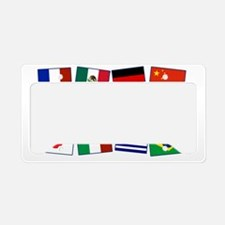 Its Easy to Mingle License Plate Holder