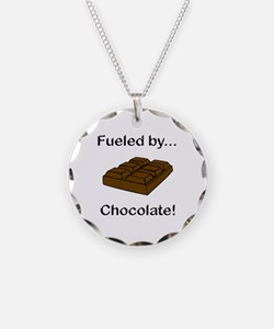 Fueled by Chocolate Necklace