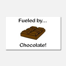 Fueled by Chocolate Car Magnet 20 x 12