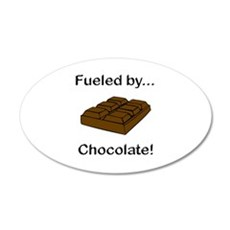 Fueled by Chocolate Wall Decal