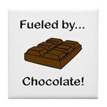 Fueled by Chocolate Tile Coaster