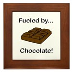 Fueled by Chocolate Framed Tile