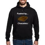 Fueled by Chocolate Hoodie (dark)