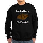 Fueled by Chocolate Sweatshirt (dark)