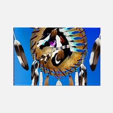 Spiritual Horse Rectangle Magnet