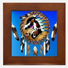 Spiritual Horse Framed Tile