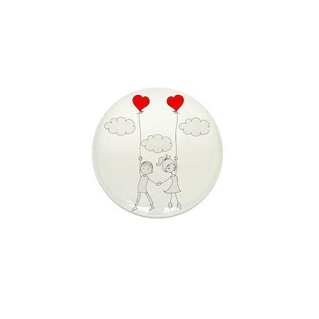 In Love Mini Button