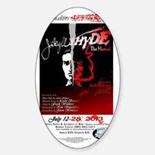 Jekyll & Hyde, The Musical Sticker (Oval)
