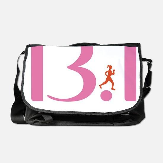 13.1 Runs Like A Girl Messenger Bag