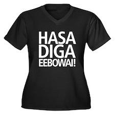 Hasa Diga Eebowai Plus Size T-Shirt