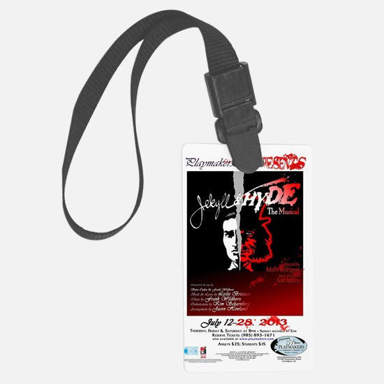 Jekyll  Hyde, The Musical Luggage Tag