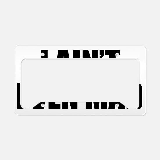 AintEvMad1A License Plate Holder