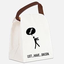 Bacon-A Canvas Lunch Bag