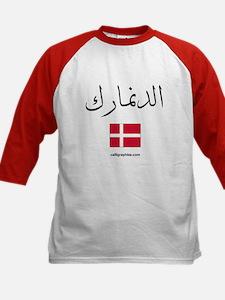 Denmark Flag Arabic Tee