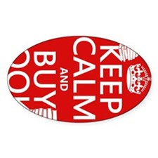 Keep Calm and Buy Books Decal