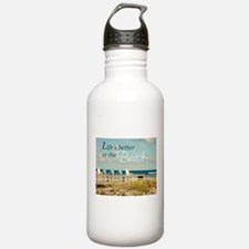 LIFE'S BETTER AT THE BEACH Water Bottle
