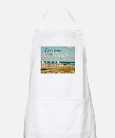 LIFE'S BETTER AT THE BEACH Apron