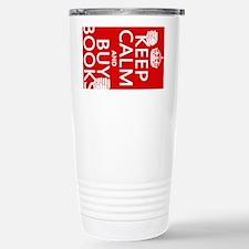 Keep Calm and Buy Books Travel Mug
