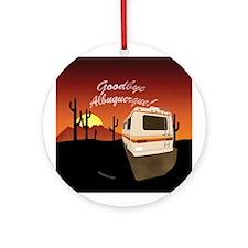 Goodbye Albuquerque Ornament (Round)