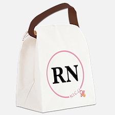 NICU RN Canvas Lunch Bag