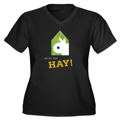Snuffy Seize the Hay Plus Size T-Shirt