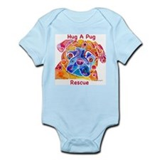 Pugs All for the Pug Infant Bodysuit