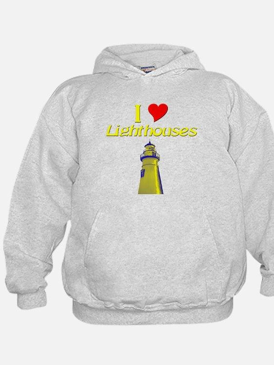 beach island cape lighthouse Hoodie