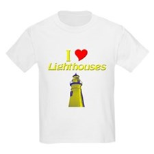 beach island cape lighthouse T-Shirt