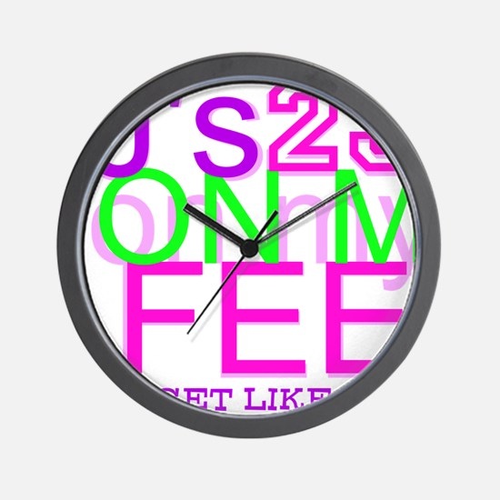 JS Wall Clock