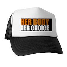 herbodybutton Trucker Hat