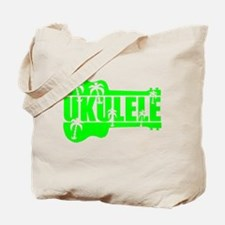 hawaiian ukulele uke palm tree design Tote Bag