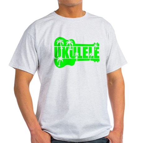 hawaiian ukulele uke palm tree design T-Shirt