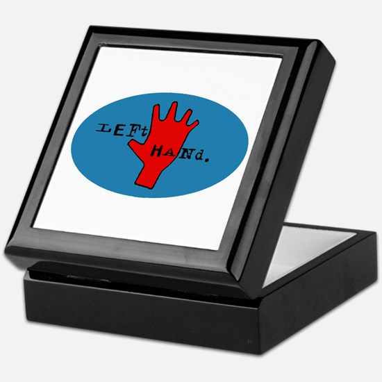Left Hand Keepsake Box