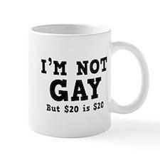 I'm Not Gay Small Mug