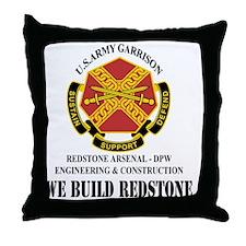 DPW Engineering  Construction Throw Pillow
