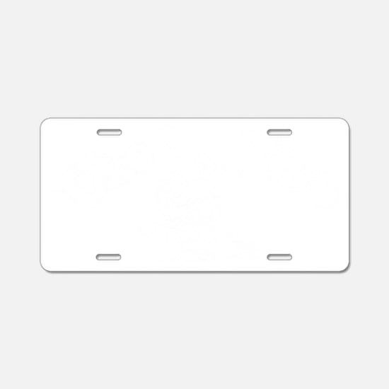 Uke Club Aluminum License Plate