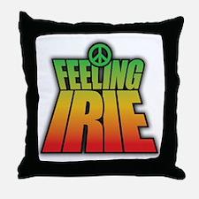 Feeling IRIE Throw Pillow