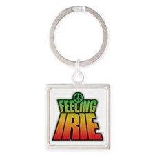 Feeling IRIE Square Keychain