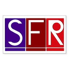 sfr logo 3 block Decal