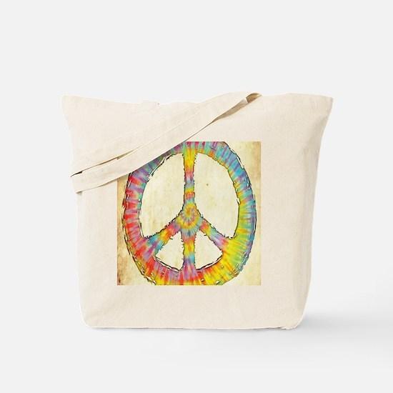 tiedye-peace-713-LG Tote Bag
