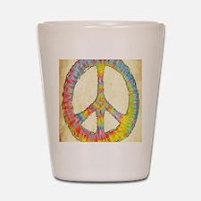 tiedye-peace-713-LG Shot Glass