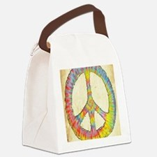 tiedye-peace-713-LG Canvas Lunch Bag