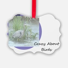 Crazy About Birds Ornament