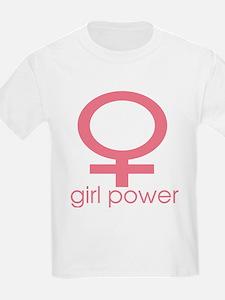 Girl Power Light Pink T-Shirt