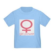 Girl Power Light Pink T