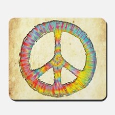 tiedye-peace-713-BUT Mousepad