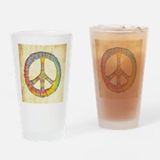 tiedye-peace-713-BUT Drinking Glass