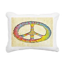 tiedye-peace-713-OV Rectangular Canvas Pillow
