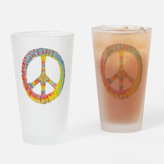 tiedye-peace-713-DKT Drinking Glass